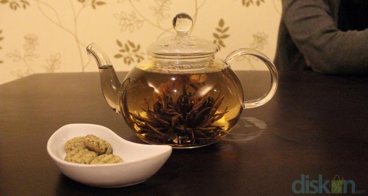 Blooming Tea, Teh Memikat Andalan Lare Solo Jogja