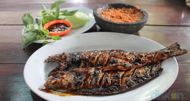 Lezatnya Ikan Surung Bakar Racikan Warung Bu Bambang Jogja